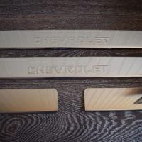 купить накладки chevrolet aveo t300 (вариант №1)