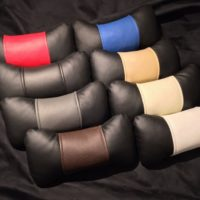 купить подушечки под шею для меховые квадраты заднее сиденья