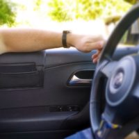купить накладка мягкая на стекло с карманом для Audi A4 B7 (Вариант №1)