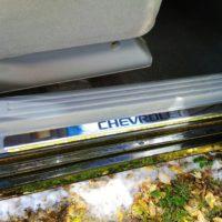 Отзыв на ХРОМИРОВАННЫЕ НАКЛАДКИ НА ПОРОГИ ДЛЯ Chevrolet Aveo T200 — T250 - Подлокотник 52