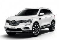 ХРОМИРОВАННЫЕ НАКЛАДКИ НА ПОРОГИ Renault Koleos 2