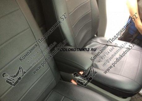 купить подлокотник для volkswagen transporter t5 спарка для сидений 1+2 (вариант №1)