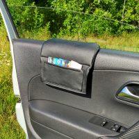 купить накладка мягкая на стекло с карманом для Peugeot 408 (Вариант №1)