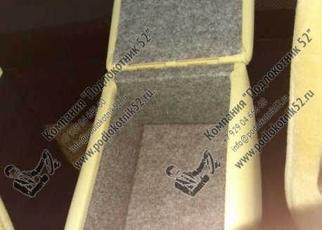 купить подлокотник для chevrolet niva рестайлинг  (вариант №2)