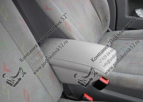 купить подлокотник для volkswagen transporter t5 спарка для сидений 1+2 (вариант №2)