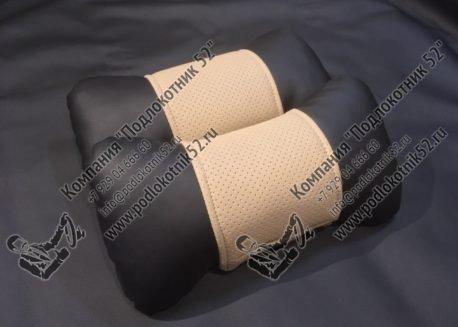купить подушечки под шею бежевые (перфорация)