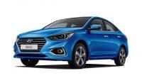 ХРОМИРОВАННЫЕ НАКЛАДКИ НА ПОРОГИ ДЛЯ  Hyundai SOLARIS 2 NEW