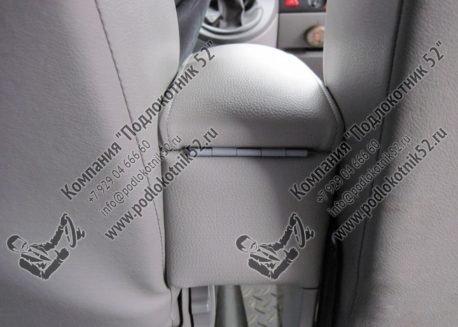 купить подлокотник для volkswagen transporter t6 спарка для сидений 1+2 (вариант №1)