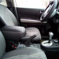 Отзыв на Крышка  подлокотника для Nissan X-Trail 2 T31, ОПЛЁТКА НА РУЛЬ КОЖА перфорированная ГЛАДКАЯ - Подлокотник 52
