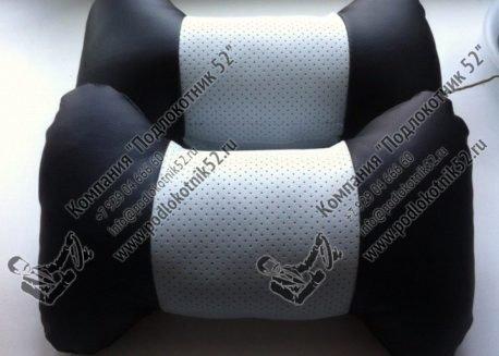 купить подушечки под шею белые (перфорация)