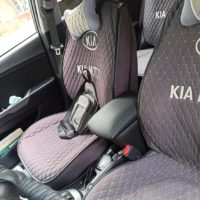 Отзыв на НАКЛАДКА ДЛЯ KIA RIO 3, Накладка мягкая для колена водителя (подходит для всех марок авто), Подлокотник для KIA Rio 3     (Вариант №3) - Подлокотник 52