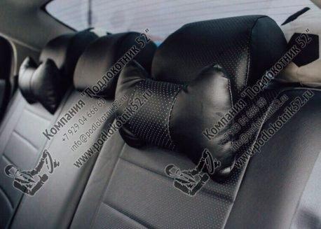 купить подушечки под шею чёрные (перфорация)