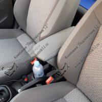 Отзыв на Подлокотник для Chevrolet Cobalt 2 (Вариант №3), ХРОМИРОВАННЫЕ НАКЛАДКИ НА ПОРОГИ ДЛЯ Chevrolet Cobalt - Подлокотник 52