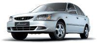 ХРОМИРОВАННЫЕ НАКЛАДКИ НА ПОРОГИ ДЛЯ  Hyundai Accent