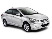 ХРОМИРОВАННЫЕ НАКЛАДКИ НА ПОРОГИ ДЛЯ  Hyundai SOLARIS